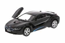 Kinsmart Bmw i8 2 Door Coupe 1:36 Diecast Model Toy Car Pull Action New- Black