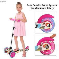 3 LED Rad Kinderscooter Tretroller Kickboards Funscooter Kinder Rroller E S 05