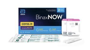 Abbott BinaxNOW 2 Test x Box . Brand new