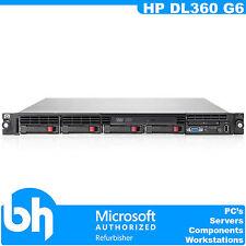 HP ProLiant DL360 G6 2x Intel Xeon Quad Core L5520 2.26GHz 12GB 1U Rack Server