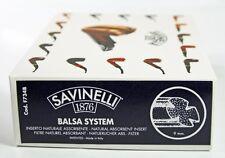 200 PCS × SAVINELLI 9 MM BALSA FILTERS BIGBOX ** NEW in BOX **
