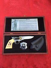 Collectible Wyatt Earp Folding Gun Knife & Accessories
