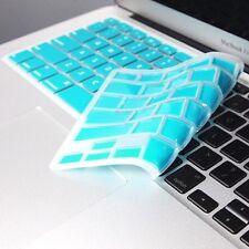 "AQUA BLUE Keyboard Cover Skin for Macbook Air 13"" A1369"
