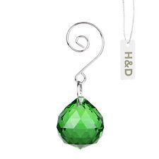 Green Crystal Ball Sphere  For Suncatcher Craft Chandelier Wedding Decoration