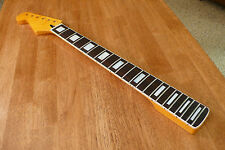 GUITAR NECK REVERSE HEADSTOCK MOTHER OF PEARL BLOCK INLAYS FOR STRATOCASTER