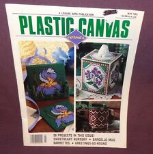 Plastic Canvas Corner Magazine May 1993 26 Projects Sweetheart Nursery Greetings