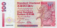 Hong Kong Standard Chartered Bank P-287b 100 dollars 1997 Unc-