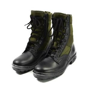 Original German army Tropical Boots BALTES black/OD green military surplus NEW