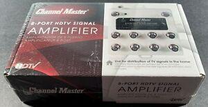 Channel Master CM-3418, 8-Port HDTV Signal Amplifier.  NEW !!!