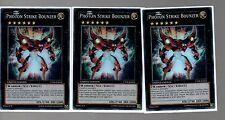 3 Card Holo Playset - 3x Super Rare Photon Strike Bounzer CT09-EN022