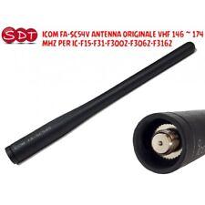 ICOM FA-SC54V ANTENNE ORIGINAL VHF 146 ~ 174 MHZ POUR IC-F15-F31-F3002-F3062-F31