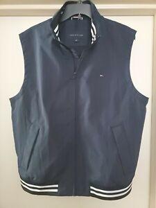 New Tommy Hilfiger Navy Vest Jacket Men's Size L MSRP $129