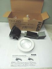 RAB Lighting RDLED4R12-80YY-S-W RND 12W 27K Dim Triac 80-Degree Spec Cone Ring