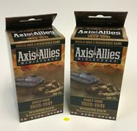 A&A Axis & Allies Miniatures Early War 1939-1941 Booster Pack x 2 NEW from Case