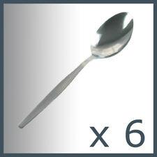 6 x Small Stainless Steel Steal Tea Spoon TEASPOONS set  Coffee Bar Cutlery SYD