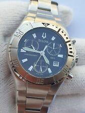 Bulova Watch C860542 Chronograph Diver Quartz Mens 41mm Swiss Made