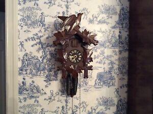Vintage Hubert Herr German Cuckoo Clock