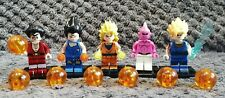 Lot de 5 figurines Dragon Ball Z, Arc Buu, au format lego, neuves !
