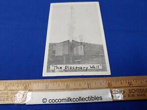 Postcard 1950s The Discovery Well Dorcie Calhoun Leidy Area Pennsylvania Blk Whi