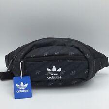 NEW Adidas Originals National Unisex Black Adjustable Fanny Pack Bag Waist NWT