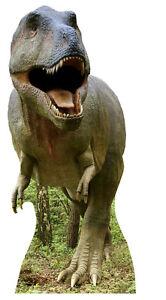 TYRANNOSAURUS REX T-Rex Dinosaur HUGE CARDBOARD CUTOUT!