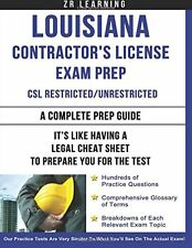 Louisiana Contractor's License Exam Prep Study Guide Practice Test Questions