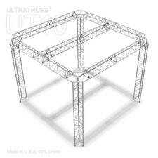 Ultratruss Marie 10ft X 10ft Black Triangle Truss Trade Show Booth