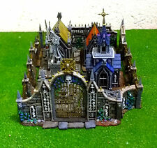 "WARHAMMER WAR GAME SCENERY "" GARDEN OF MOOR  "" BUILDING MASTER  PAINTED"