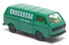 Herpa - VW Volkswagen T3 Bus Kasten grün Underberg LKW Modell - 1:87 H0