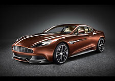 2013 ASTON MARTIN VANQUISH STUDIO NEW A2 CANVAS GICLEE ART PRINT POSTER FRAMED
