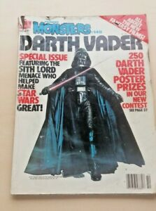 Vintage COMIC  - FAMOUS MONSTERS - NO 148 - DARTH VADER - OCT 78