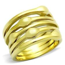 Sizableless Yellow Gold Filled Costume Rings