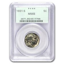 1931-S Buffalo Nickel MS-65 PCGS - SKU#18005