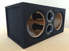 "Custom Ported Subwoofer Enclosure Sub Box for 2 10"" JL Audio 10W6 10W6v3 - 39 HZ"
