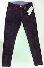 Hudson Jean Nico Mid Rise Super Skinny - Purple Rose Size 27 Factory Second
