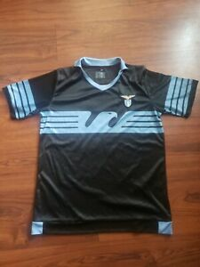 SS Lazio Home Italy Soccer Jersey Shirt by Macron - Size Small