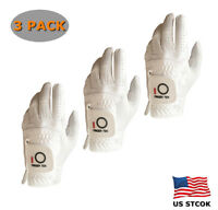 Golf Glove 3 Pack Mens Rain Grip Value Microfiber Soft Left Hand Sport Titleist