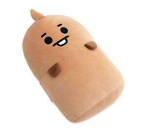 BT21 Baby Doll Shooky New Napping Cushion K-Pop Korean Brown BTS Army Official