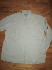 Columbia GRT Omni Dry Nylon Lightweight  Fly Fishing Travel Men's XXL MAR173
