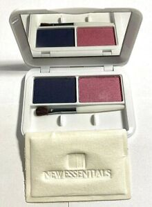 NEW ESSENTIALS Eye Color Duo BRIGHT  Slate/Royal Pink .14 oz