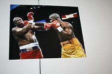 MICHAEL MOORER UNSIGNED 8X10 PHOTO FORMER 3X CHAMPION VS GEORGE FOREMAN