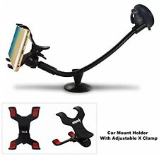 Ipow Universal Long Arm Windshield Dashboard Car Mount Holder Adjustable Clamp