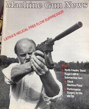 Machine Gun News, Sept. 1993, Volume 7 Number 4, Latka's Helical Suppressor