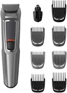 PHILIPS S-3000 9-in-1 Multi Grooming Kit for Beard, Hair, Nose Trimmer MG3722/33
