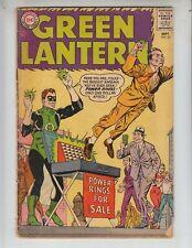 """Green Lantern 31 VG+ (4.5) 9/64 """"Power Rings For Sale!"""""""