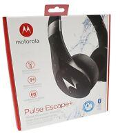 Motorola Pulse Escape+ Over-Ear iP54 Water Resistant Wireless Headphones Black