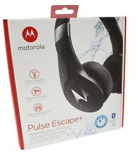 Motorola Pulse Escape Bluetooth Wireless Headphones Computer Zoom App Compatible