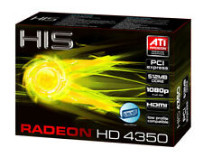 HIS HD 4350 Silence Native HDMI 512MB (64bit) DDR2 PCIe H435H512HDP Dell 4T9G4
