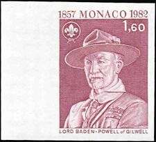 MONACO #1341 Boy Scouts. Lord Baden-Powell. Trial Color Proof! Mint! NH! VF!