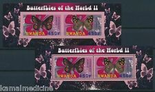Grayling Rock Grayling Butterflies Insects, 2010 MNH Imperf + Perf SS